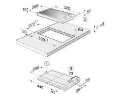miele zwischenleiste f r combi sets cszl 1500. Black Bedroom Furniture Sets. Home Design Ideas