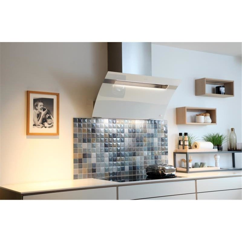 berbel kopffreihaube glassline bkh 90 gl 2 wei 1040066 incl 5 jahre garantie miele. Black Bedroom Furniture Sets. Home Design Ideas