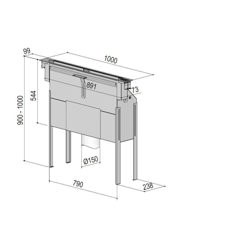 homeier downair mistral slim umluft 1400011 inkl 5 jahre garantie. Black Bedroom Furniture Sets. Home Design Ideas