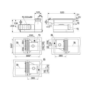miele muldenl ftung csda 1010 kombi induktion muldenl ftung. Black Bedroom Furniture Sets. Home Design Ideas