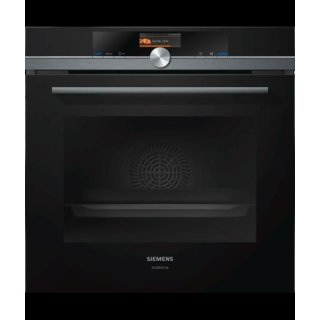siemens iq 700 backofen mit integrierter mikrowelle hm836gpb6 60 cm. Black Bedroom Furniture Sets. Home Design Ideas