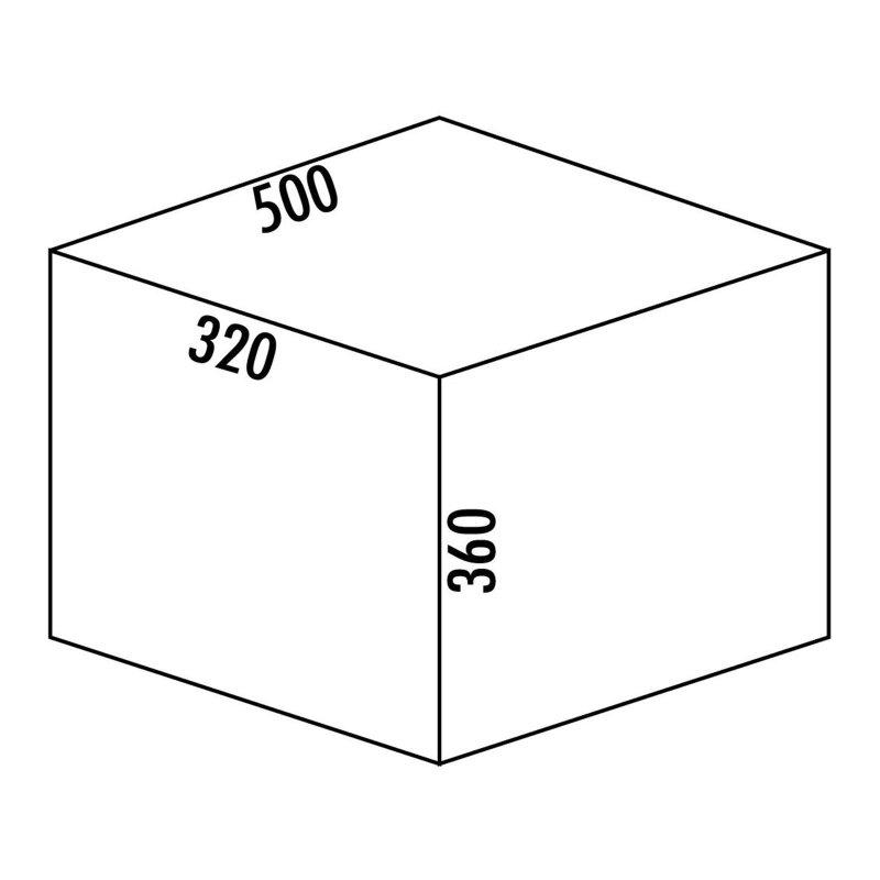 naber abfallsammler cox base 360 s 500 2 hellgrau h 360mm ohne biodeckel 8012400 miele. Black Bedroom Furniture Sets. Home Design Ideas