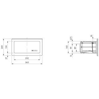 Bora Ecotube UEBF/1 3box Mauerkasten - Miele Onlineshop in Landshut ...