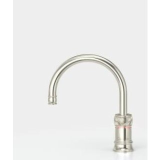 Quooker Classic Nordic Round single tap mit COMBI Reservoir & CUBE Nickel